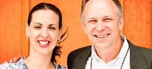 Jodina Hicks & Bruce Main Executive Director and Founder / Pres. of Urban Promise