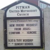 Friend Request from Jesus!
