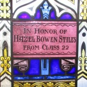 """Remembering Hazel Stiles and the """"Stand at the Door"""" Window"""