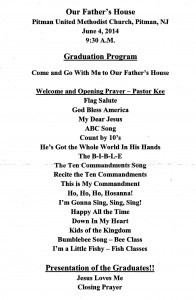 OFH Graduation14 Program