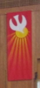 Pentecost Paraments Dove  _0305