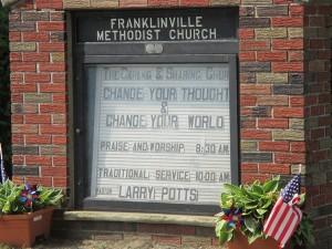 Franklinville- Signboard _0605