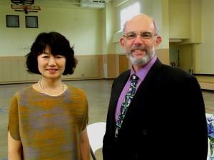 Rev. Jisun Kwak (Delaware Bay DS) with our pastor Rev. Jim Bolton