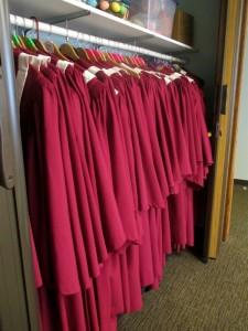 Choir Robes Hanging _IMG_0975