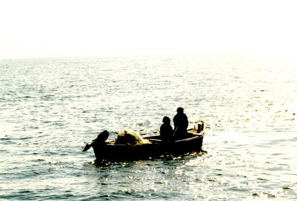 Fishermen on the Sea of Galilee