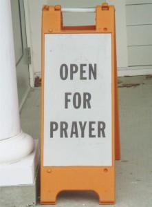 Sign- Open for Prayer _IMG_1295