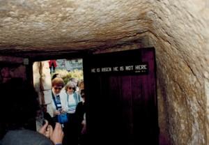 Gordens Calvary garden tomb resurrection
