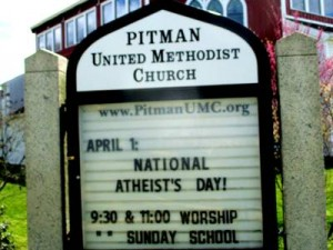Signboard 2016-04-01 National Atheists Day _IMG_3183