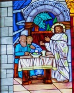 Window-Emmaus-Communion _IMG_0477 400x500