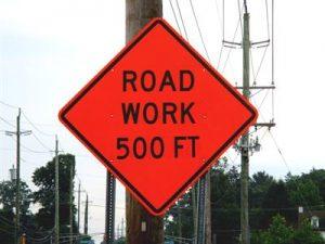 RoadSign Road Work _IMG_3543
