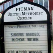 Singers Needed!