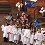 Preschool Preparing Christmas Pageant! (12/6/18)