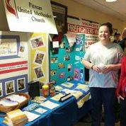 PUMC Participates in Pitman Volunteer Fair (1/27/18)