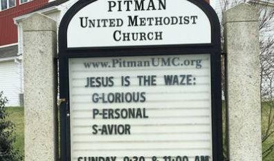 Jesus is the Waze