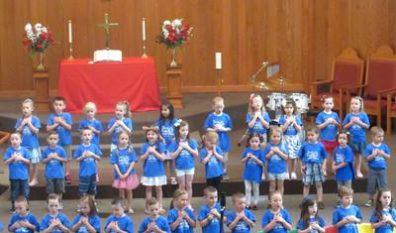 Pre-School Celebrates Graduation of Four-Year Olds (5/24/18)