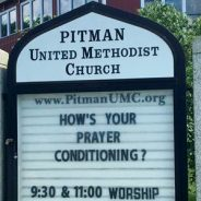 How's Your Prayer Conditioning?