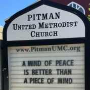 A Mind of Peace or a Piece of Mind???