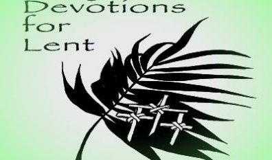 Lenten Devotional for 2019