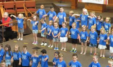 Preschool Class of '19 Graduates and Marks one Decade of OFH! (5/29/19)