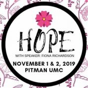 Women's Conference to Bring Hope (11/1/19 & 11/2/19)