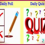 """""""Daily Poll"""" and """"Daily Quiz"""""""