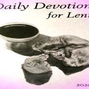 Lenten  Devotional for 2020