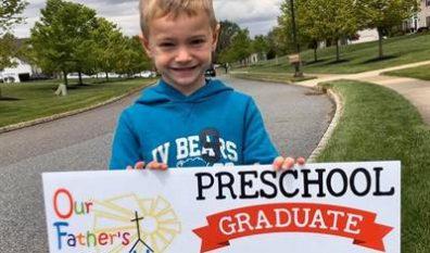 Drive By Parade Celebrates Preschool Grads! (5/11/20)