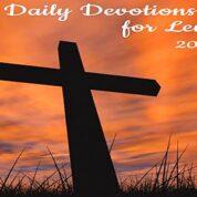2021 Lenten Devotional Booklet